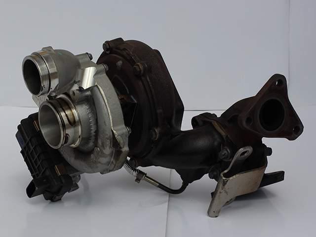 Турбокомпрессор двигателя Мерседес OM 642 350cdi А 642 090 85 80 третье изображение