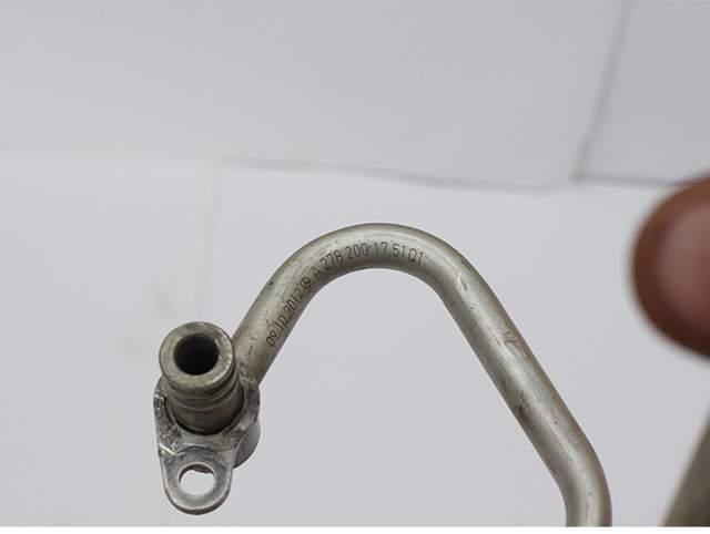 Трубопровод охлаждения двигателя м278 Мерседес 221-кузов А 278 200 17 51 01