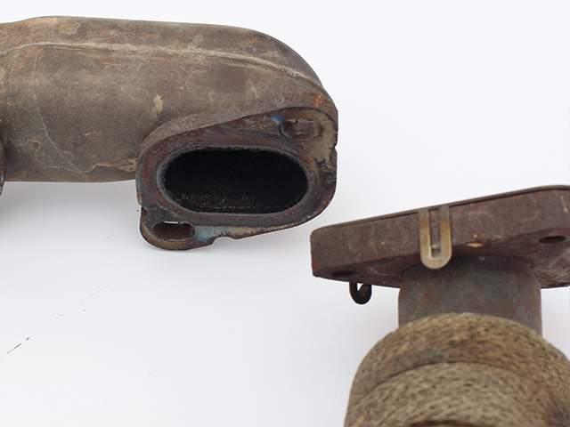 Выпускной коллектор двигателя Мерседес ом642 пробег 70 тыс. третье изображение