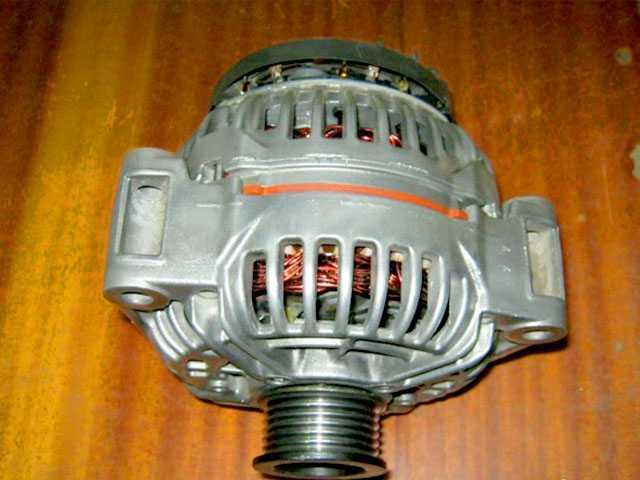 Генератор Мерседес W220 1999-2005