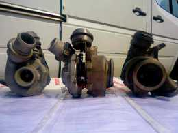Турбина Mercedes-Benz Sprinter 901-905 двигатель 2.2 CDI