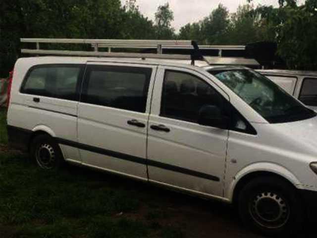 Алюминиевый Багажник на Мерседес-Вито 639